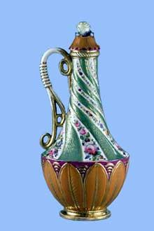 Jacob Petit: pièce de porcelaine. Vers 1845