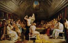 Théodore Chassériau: le tépidarium. 1853. Huile sur toile, 171 x 258 cm. Paris, Musée d'Orsay