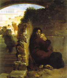 Léon Cogniet: Scène du Massacre des saint Innocents. 1824 ; Huile sur toile ; 265 x 235 cm. Rennes, Musée des beaux Arts