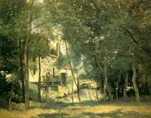 Camille Corot: Le Moulin de Saint-Nicolas-lez-Arras. Huile sur toile 65,5 cm x 81 cm. Paris, musée d'Orsay