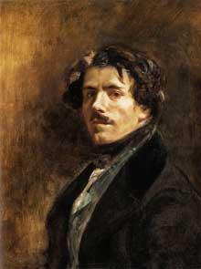 Eugène Delacroix: autoportrait. 1837. Huile sur toile, 65 x 54,5 cm. Paris, Musée du Louvre
