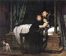 Paul Delaroche: les Enfants d'Edouard. 1831. Huile sur toile. Paris, Musée du Louvre