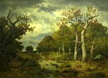 Narcisse Diaz de la Peña: lisière de forêt. 1971. Huile sur toile, 99 x 71 cm. Paris, Musée d'Orsay