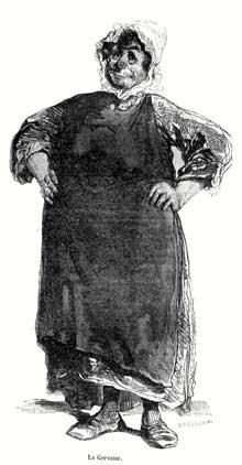 Gavarni: la Gervaise