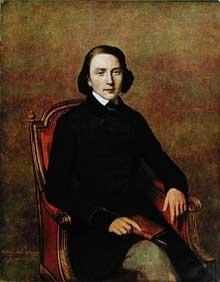 Gavarni: portrait de Victor Hugo. 1829. Lithographie en couleurs. Collection privée