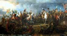 François Pascal Simon, baron Gérard: la bataille d'Austerlitz. 1810. Huile sur toile, 958 x 510 cm. Versailles, galerie des batailles