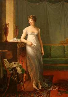 François Pascal Simon, baron Gérard: Madame Charles-Maurice de Talleyrand-Périgord (Catherine Noele Worlée, 1762-1835), Princesse de Bénévent. Huile sur toile, New York, Metropolitan Museum of Art