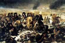 Antoine Jean, baron Gros: Napoléon Bonaparte à la bataille d'Eylau. 1808. Huile sur toile, 521 x 784 cm. Paris, Musée du Louvre
