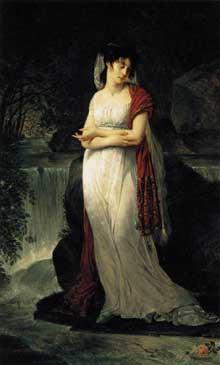Antoine Jean, baron Gros: Christine Boyer. Vers 1800. Huile sur toile, 214 x 134 cm. Paruis, Musée du Louvre
