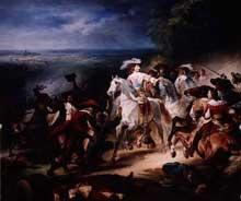 François Joseph Heim: la bataille de Rocroi, 19 mai 1643.1834. Huile sur toile, 543 x 465 cm. Versailles, Musée du château