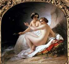 Louis Hersent: les baigneuses. 1830. Huile sur toile