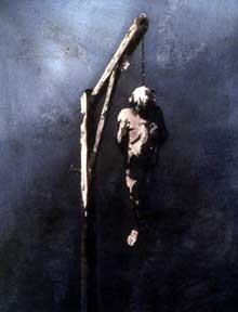 Victor Hugo: le pendu. Dessin