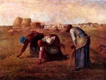 Jean-François Millet: Les glaneuses. 1857. Huile sur toile, 84 × 111 cm. Paris, Musée d'Orsay