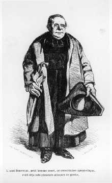 Henry Monnier: le curé de Tours, l'abbé Birotteau. Scènes de la vie de Province.