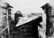 Nicéphore Niepce: la toute première photographies. 1826-1827