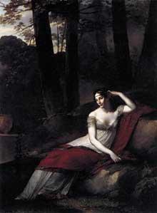 Pierre Paul Prud'hon: L'impératrice Joséphine. Vers 1805. Huile sur toile, 244 x 179 cm. Paris, Musée du Louvre