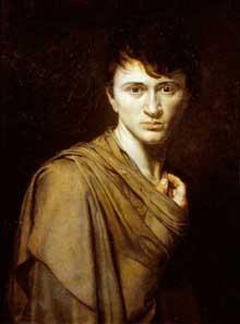 Abel de Pujol: autoportrait. 1806. Huile sur toile, 54 x 71 cm. Musée des Beaux-Arts