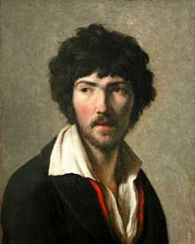 Henri François Riesener: Maurice Quay. 1797-1999. Huile sur toile, 46 cm x 56 cm. Paris, Musée du Louvre