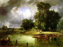 Constant Troyon: l'approche de l'orage. 1849. Huile sur toile