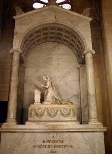 Pierre Cartellier: tombeau de Joséphine de Beauharnais à l'église Saint Pierre Saint Paul de Rueil-Malmaison