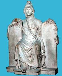 Joseph Chinard: la République. 1780-1810. Esquisse en terre cuite. Paris, Musée du Louvre