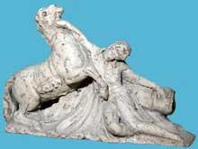 Joseph Chinard: monument au général Desaix. 1800-1805. Terre non cuite. Paris, Musée du Louvre