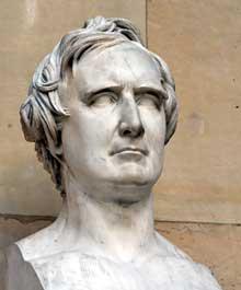David d'Angers: portrait de Francois Arago. 90 cm. Paris, musée du Louvre
