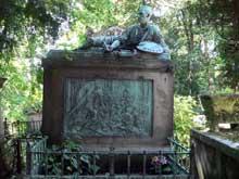 Antoine Etex: Tombeau de Géricault au Cimetière du Père-Lachaise à Paris