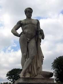 Denis Foyatier: Cincinnatus. Jardin des Tuileries.