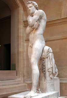 Denis Foyatier: Spartacus. 1827-1830. Marbre. Paris, musée du Louvre
