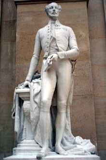 Jean Louis Jaley: le duc d'Orléans. 1844. Marbre. Paris, musée du Louvre