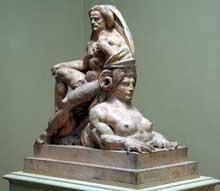 Auguste Préault: Jupiter et le sphinx. 1868-1871. New York, Metropolitan Museum.