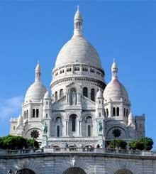 Paul Abadie: l'église basilique du sacré Cœur de Montmartre. 1875-1914