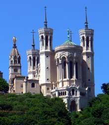 Pierre Bossan: Notre Dame de Fourvière à Lyon