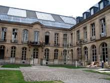 Félix Duban: l'école des Beaux Arts de Paris: entrée quai Malplaquet