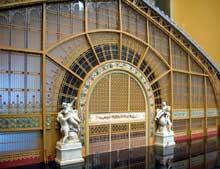 Ferdinand Dutert et Condamin: la galerie des Machines de l'Exposition de Paris de 1889. Maquett