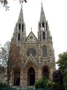 François Christian Gau et Théodore Ballu: église Sainte Clotilde, Paris