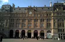 Lenoir: la gare saint Lazare de Paris