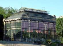 Rohault de Fleury: le Jardin des Plantes: la serre mexicaine