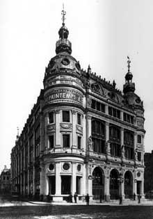 Paul Sédille: le magasin Printemps.