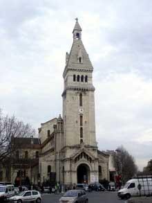 Joseph Vaudremer: l'église saint Pierre de Montrouge.
