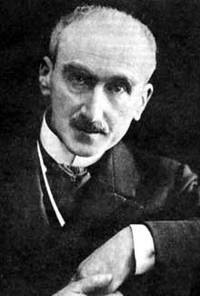 Portrait de Henri Bergson