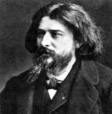 Portrait d'Alphonse Daudet