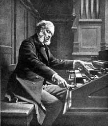 César Frank aux orgues de sainte Clotilde