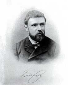Portrait de Henri Poincaré