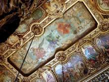 Paul Jacques Aimé Baudry: la Musique. Plafond peint de l'Opéra de Paris: le grand foyer, grand étage. 1866-1874
