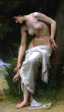 William Bouguereau : après le bain. 1895