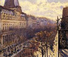Gustave Caillebotte: Boulevard des Italiens. 1880. Collection particulière