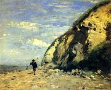 Adolphe Cals: Honfleur. 1874. Huile sur toile, 25 x 31 cm. Paris, Musée d'Orsay