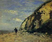 Adolphe Félix Cals: Honfleur. 1874. Huile sur toile, 25 cm x 31 cm. Paris, musée d'Orsay